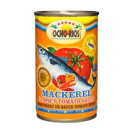 MACKEREL IN HOT TOMATO SAUCE