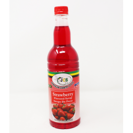 JCS STRAWBERRY SYRUP
