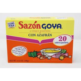 GOYA SAZON W/AZAFRAN [ECONOPAK]