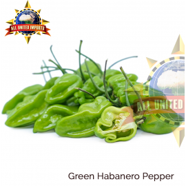GREEN HABANERO PEPPER