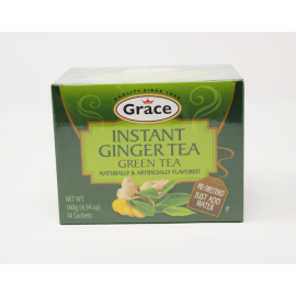 INSTANT GINGER GREEN TEA