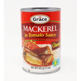 MACKEREL IN TOMATO SAUCE CHUNKY