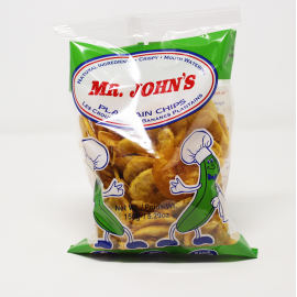 MR JOHN'S REGULAR PLANTAIN CHIPS