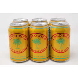 COCO RICO COCONUT SODA YELLOW CAN